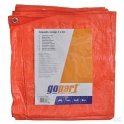T2400300GP Plandeka pomarańczowa Gopart, 4 x 3 m