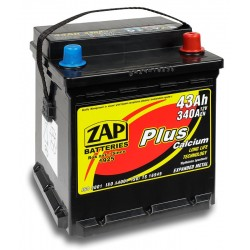 54308, 543 08 Akumulator ZAP Plus 12V 43Ah 340A