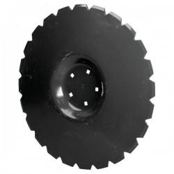 AU/362 Talerz uzębiony, Ø 510mm, 5 otworów na okręgu, 116mm