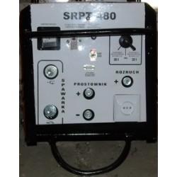 SRPT 480 Spawarka 300A z prostownikiem 30A i rozruchem 600A