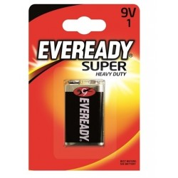 BATERIA EVEREADY SILVER 9V 6F22