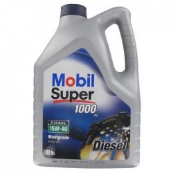 OLEJ MOBIL 15W40 SUPER M DIESEL 1000 5L