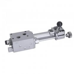 0042371011, 42371011 Rozdzielacz hydrauliczny pod siedzenie, pasuje do C-330