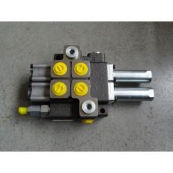 W-ROZ40L/2L, ROZ40L/2L  Rozdzielacz hydrauliczny dwusekcyjny