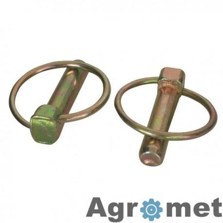 LP8KR Zawleczka składana ocynk, 8 mm