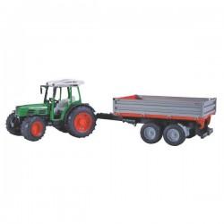 U02104, 02104 Traktor Fendt 209 S z przyczepką