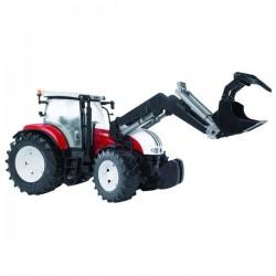 U03091, U 03091 Traktor Steyr CVT 6230 z ładowaczem