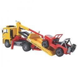 U02750, U 02750 Ciężarówka MAN pomoc drogowa z Jeepem