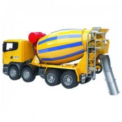 U03554, U 03554 Ciężarówka Scania Betoniarka