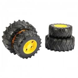 U03314, 03314 Koła bliźniacze żółte do Traktorów serii 1992-03