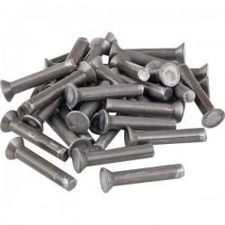 3750603012, 603012 Nit stalowy stożkowy, 6.0 x 30 mm łepek płaski