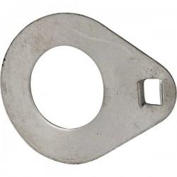 0080161021, 80161021 Podkładka śruby wału koła tylnego zabezpieczająca, pasuje do C-385