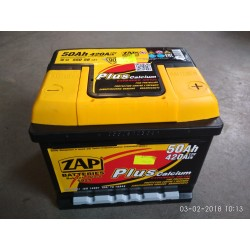55058, 550 58 Akumulator ZAP Plus 12V 50Ah 420A