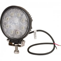 LA15001  Lampa robocza, okrągła LED, rozproszenie światła 60 stopni