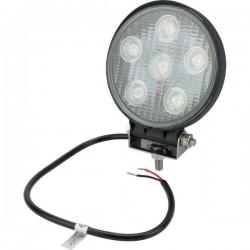 LA15002 Lampa robocza, okrągła LED, rozproszenie światła 30 stopni