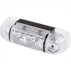 690820, 1400690820 LAMPA OBRYSOWA POMARAŃCZOWA W61 12/21V
