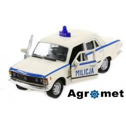 ZABAWKA FIAT 125 P MILICJA MO KOLEKCJA PRL 6279004