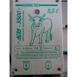 AGRI 3500  ELEKTRYZATOR AKUMULATOROWY 12 V