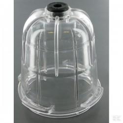 0060527 Szklana obudowa syfonu do połączenia bagnetowego