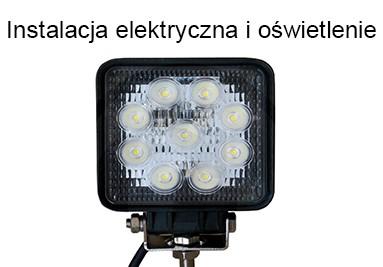 Instalacja elektryczna i oświetlenie, kierunkowskazy